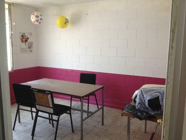 A view of a room used for assisting special education students at Escuela Josefa Ortiz De Domingue in Culican, Sinaloa, Meixco